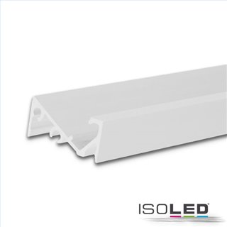 LED Aufbauprofil FURNIT6 S Aluminium weiß RAL 9003, 200cm