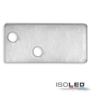 Endkappe EC95 Aluminium eloxiert für Profil FURNIT6 D inkl. Schrauben