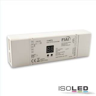 DALI DT8 Universal Push-Dim PWM-Controller, 4 Kanal, 12-36V 4x5A, 48V 4x3A