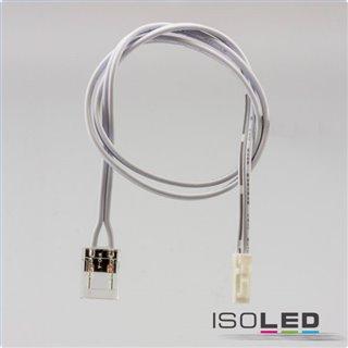 MiniAMP male-Stecker zu Clip Kabelanschluss (max. 3A) für 2-pol. IP20 Stripes mit Breite 10mm