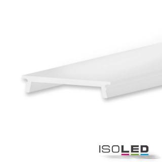 Abdeckung für Aufbauprofil IL-ALU20, opal satiniert, 200cm