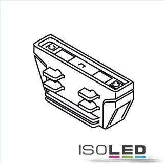 3-Phasen Classic Linear-Verbinder isoliert, schwarz