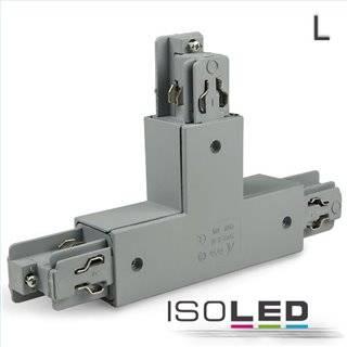 3-Phasen Classic T-Verbinder N-Leiter rechts, Schutzleiter links, silber