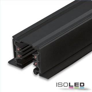 3-Phasen Classic Einbau-Stromschiene, 2m, schwarz