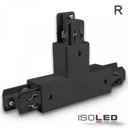 3-Phasen Classic T-Verbinder N-Leiter links, Schutzleiter rechts, schwarz