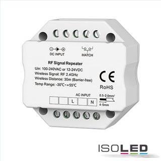 Sys-Pro Mesh Signal Repeater, max. 30m, 12-24V DC / 100-240V AC