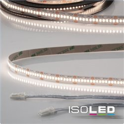 LED CRI940 MiniAMP Flexband, 24V, 6W, 4000K, 500cm, beidseitig 30cm Kabel mit male-Stecker
