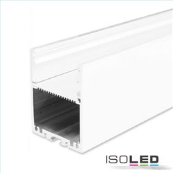LED Aufbauprofil LAMP30 Aluminium weiß RAL 9003 200cm