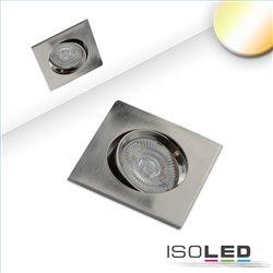LED Einbauleuchte Sunset Slim68 Alu, eckig, 9W, 1800-2800K, Dimm-to-warm