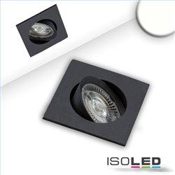 LED Einbauleuchte Slim68 schwarz, eckig, 9W, neutralweiß, dimmbar