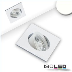 LED Einbauleuchte Slim68 weiß, eckig, 9W, neutralweiß, dimmbar