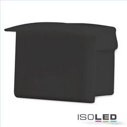 Endkappe EC7B für Profil DIVE12, schwarz, 1 Stk