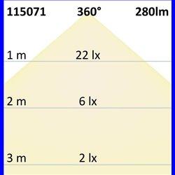 E27 Vintage Line LED Waterdrop Amber, 4W 2200K