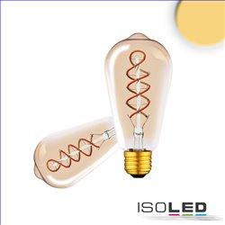 E27 Vintage Line LED ST64 Edisonbulb, amber, 4W 2200K