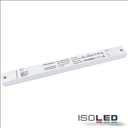 LED PWM-Trafo 24V/DC, 0-150W, slim, Push/Dali-2 dimmbar, SELV