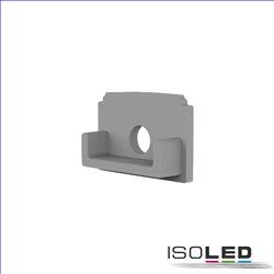 Endkappe E201 für LED Fliesen T-Profil, mit Kabeldurchführung, 1STK