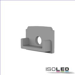 Endkappe E203 für LED Fliesenprofil Abschluss, mit Kabeldurchführung, 1STK