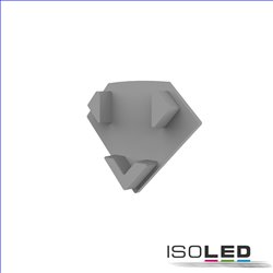 Endkappe E206 für LED Fliesenprofil Inneneck, 1STK