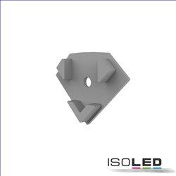Endkappe E207 für LED Fliesenprofil Inneneck, mit Kabeldurchführung, 1STK