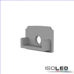 Endkappe E211 für LED Trockenbauprofil Abschluss, mit Kabeldurchführung, 1STK