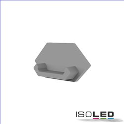 Endkappe E216 für LED Trockenbauprofil Außeneck, 1STK