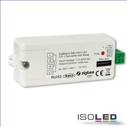 ZIGBEE auf DALI DT6/DT8 oder 0/1-10V Signal Konverter + 5A Schaltrelais, 110-240V AC