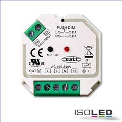 DALI-2 DT6 / Push Phasenabschnitt-Dimmer für dimmbare 230V Leuchtmittel/Trafos, 400VA