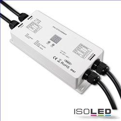DALI DT8 1 Adresse RGB+W PWM-Dimmer IP67, 4 Kanal, 12-36V 4x5A, 48V 4x3A