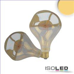 E27 Vintage Line LED Roundbulb A125 unregular, amber 4W 2200K