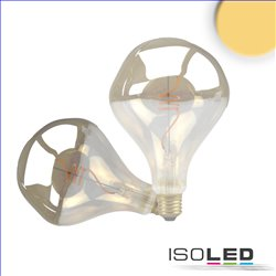 E27 Vintage Line LED Roundbulb A125, smoky, unregular, 4W 2200K