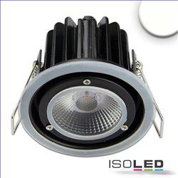 LED Einbaustrahler Sys-68 MiniAMP, 8W, 24V DC, 3000K, CRI80, dimmbar