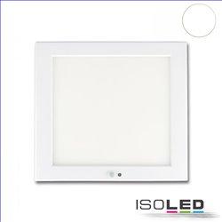 Deckenlampe Slim 18mm mit PIR-Bewegungs-/Lichtsensor, weiß, 18W, Trafo integriert, neutralweiß