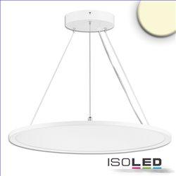 LED Office Hängeleuchte Up+Down, 20+20W, DM 61cm, weiß, UGR19, 3000K, DALI dimmbar