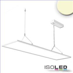 LED Office Hängeleuchte Up+Down, 20+20W, 30x120cm, weiß, UGR19, 3000K, DALI dimmbar