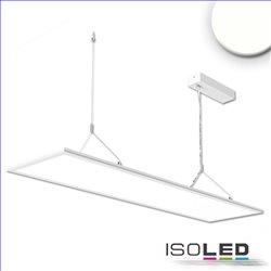 LED Office Hängeleuchte Up+Down, 20+20W, 30x120cm, weiß, UGR19, 4000K, DALI dimmbar