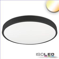LED Deckenleuchte PRO schwarz, 36W, rund, 500mm, ColorSwitch 2700K|3000K|4000K, dimmbar