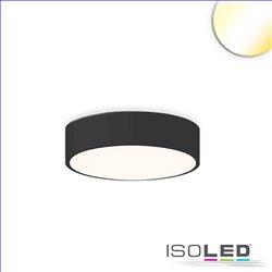 LED Deckenleuchte, DM 40cm, schwarz, 25W, ColorSwitch 3000|3500|4000K, dimmbar