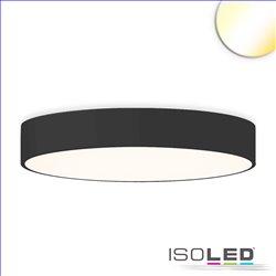 LED Deckenleuchte, DM 80cm, schwarz, 105W, ColorSwitch 3000|3500|4000K, dimmbar