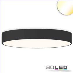 LED Deckenleuchte, DM 100cm, schwarz, 160W, ColorSwitch 3000|3500|4000K, dimmbar
