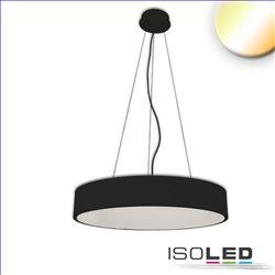 LED Hängeleuchte, DM 100cm, schwarz, 160W, ColorSwitch 3000|3500|4000K, dimmbar