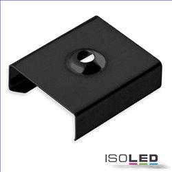 Montageklammer schwarz für Profile SURF12/DIVE12/ROUND12-14/ECK10
