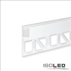 LED Fliesenprofil UP8, weiß RAL 9003 200cm
