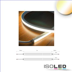 LED NeonPRO Flexband 1212, 24V, 10W, IP67, weißdynamisch